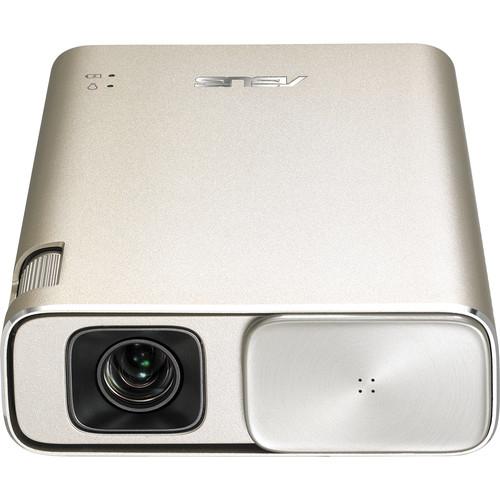 ASUS ZenBeam Go E1Z data projector 150 ANSI lumens DLP WVGA (854x480) Portable projector Gold