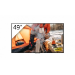 "Sony FWD-49X70H/T pantalla de señalización 123,2 cm (48.5"") LED 4K Ultra HD Pantalla plana para señalización digital Negro Procesador incorporado Linux"