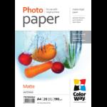Colorway PM190020A4 photo paper Matt A4