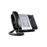Mitel MiVoice 5340e IP phone Black Wired & Wireless handset LCD