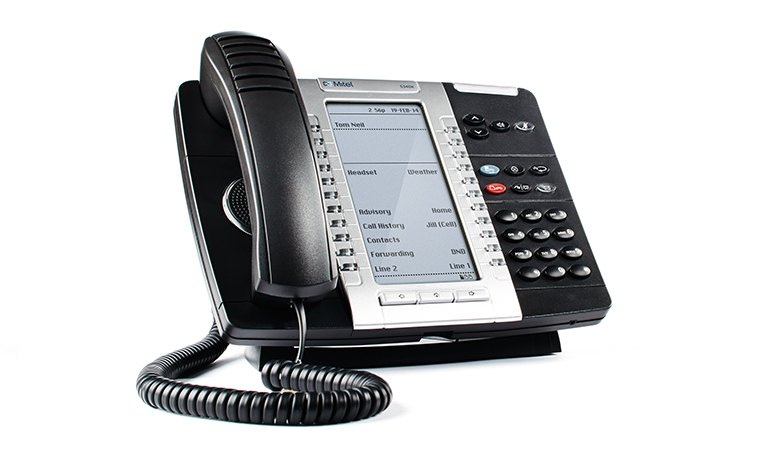 Mitel MiVoice 5340e IP phone Black Wired & Wireless handset LCD