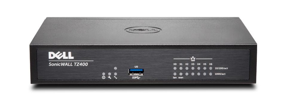SonicWall TZ400 + NFR hardware firewall 1300 Mbit/s