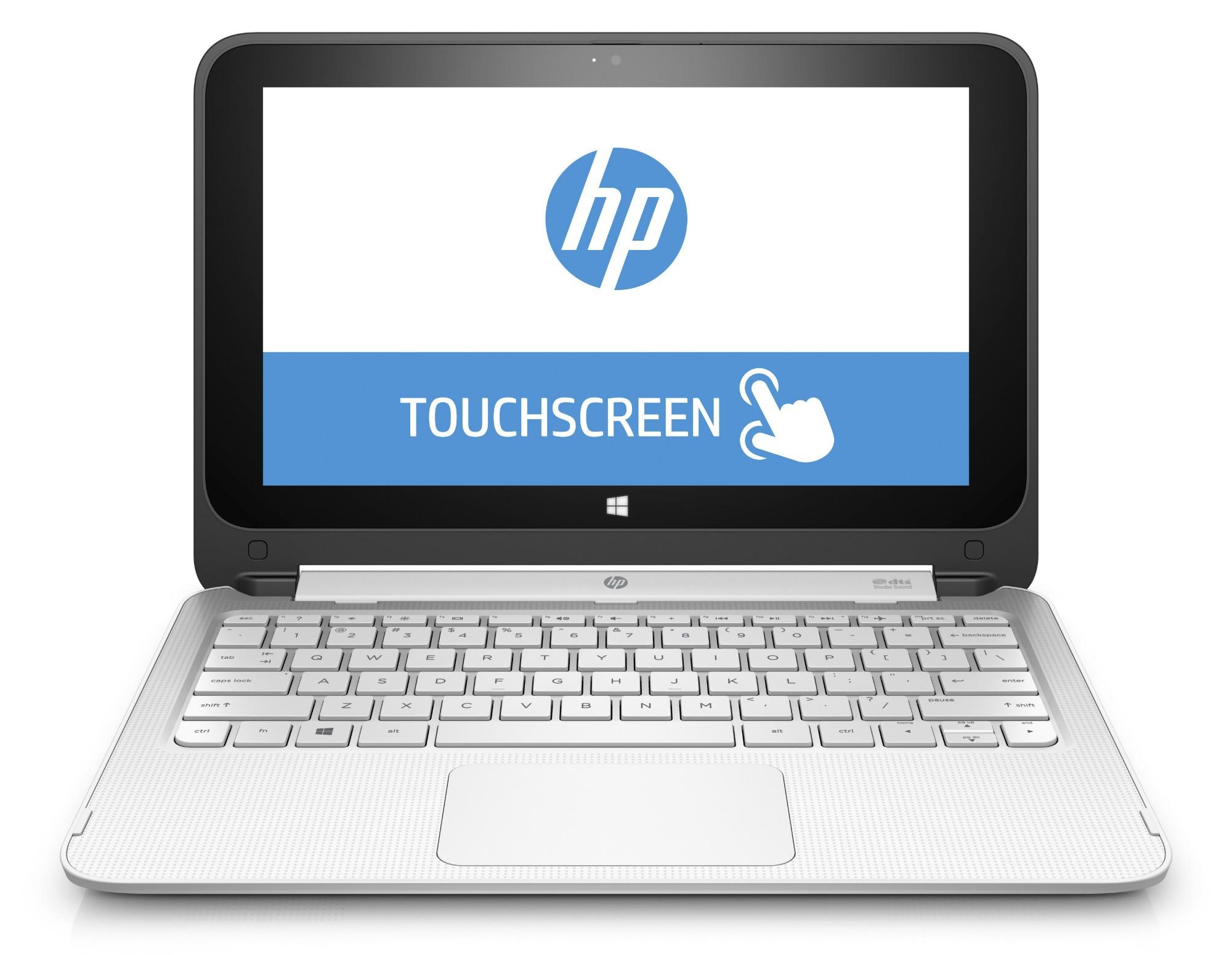 """LAPTOP HP 11-P112NR CEL/32GBSSD/2GB/11.6""""/TS/W10/WHITE/360"""