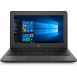 "HP Stream 11 Pro G4 EE Black Notebook 29.5 cm (11.6"") 1366 x 768 pixels Touchscreen Intel® Celeron® N3450 4 GB DDR3L-SDRAM 64 GB eMMC"