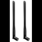 Draytek 5dB High-Gain WiFi Dual-Band Aerials (One Pair, black) - Omnidirectional. 2.4Ghz & 5Ghz bands. Suppl