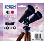 Epson 502 3.3ml 4.6ml 210pages 165pages Black, Cyan, Magenta, Yellow ink cartridge C13T02V64010