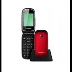 "Sunstech CELT17 6,1 cm (2.4"") 68 g Negro, Rojo Característica del teléfono"