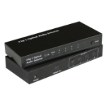 Microconnect MC-OPSW41 audio switch Black