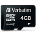 Verbatim Micro SDHC 4GB - Class 4