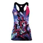 Marvel Women's Deadpool Family Sublimation Tanktop, Small, Multi-Colour (GT016POOL-S)