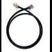 Plantronics 38202-01 signal cable 1 m Black