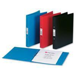 Rexel Budget 2 Ring Binder A4 Assorted