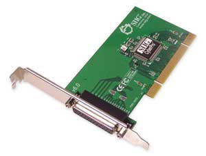 Dual Profile PCI-1p - Single Parallel (epp/ecp) Port I/o Card Rohs
