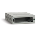 Allied Telesis Single slot chassis f/ unmanaged, standalone Media/Bridging Media Converter network equipment chassis
