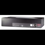 APC Rack ATS, 230V, 32A, IEC309 in, (16)C13 (2)C19 out Black power distribution unit (PDU)