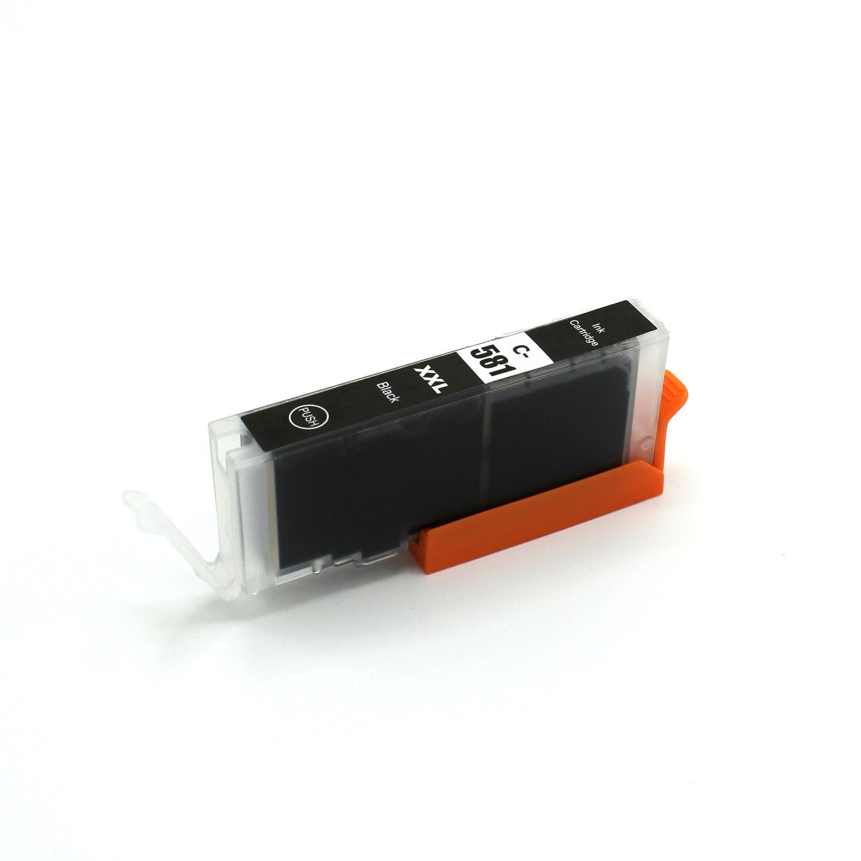 Compatible Canon CLI-581XLBK Black Ink Cartridge