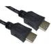 Cables Direct 77HDMI-020 2m HDMI HDMI Black HDMI cable