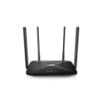 Mercusys AC12G wireless router Dual-band (2.4 GHz / 5 GHz) Gigabit Ethernet Black