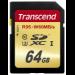 Transcend 64GB, SDXC UHS-I (U3) 64GB SDXC UHS Class 10 memory card