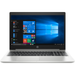 "HP ProBook 450 G6 Silver notebook 39.6 cm (15.6"") 1366 x 768 pixels 8th gen Intel® Core™ i3 i3-8145U 4 GB DDR4-SDRAM 256 GB SSD Windows 10 Pro"