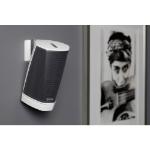 SoundXtra SDXH1WM1011 speaker mount Wall Acrylonitrile butadiene styrene (ABS),Steel White