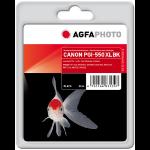 AgfaPhoto APCPGI550XLB ink cartridge Black 1 pc(s)