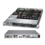 Supermicro Superserver 8017R-7FT+ Intel C602 Socket R (LGA 2011) 1U Black