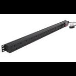 Dynamode PDU-12WS-V-SP-1U 12AC outlet(s) 1U Black power distribution unit (PDU)