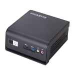 Gigabyte GB-BLPD-5005R PC/workstation barebone J5005 2.8 GHz Black
