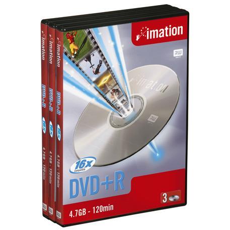 Imation DVD+R 16x 4.7GB 3pk videobox 4.7GB 3pc(s)