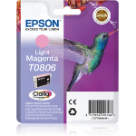 Epson C13T08064021 (T0806) Ink cartridge bright magenta, 220 pages, 7ml