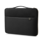 "HP 14"" Carry Sleeve Black/Gold notebook case 35.6 cm (14"") Sleeve case Black,Gold"