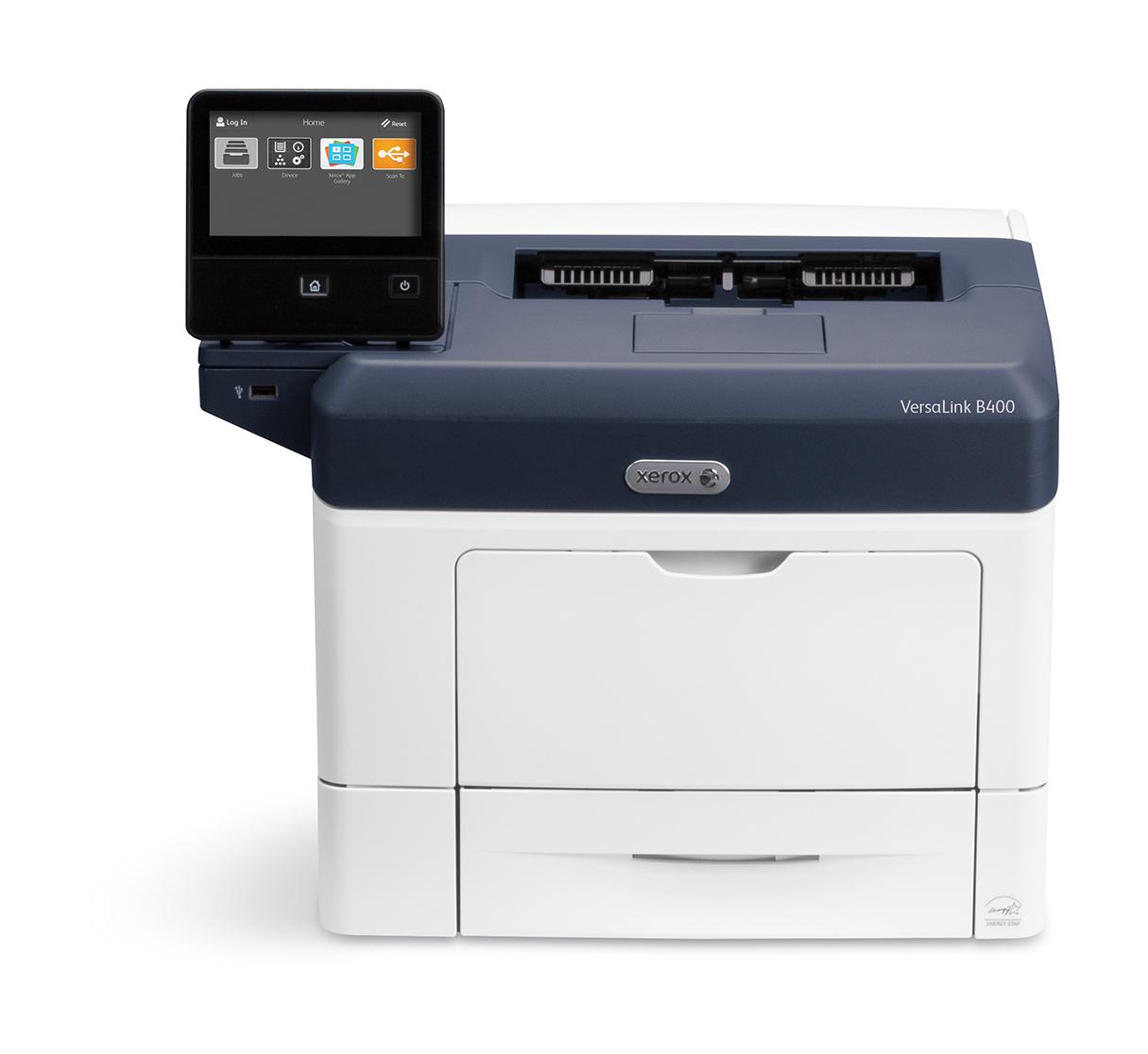 Xerox VersaLink B400 A4 45 ppm impresora dúplex sin contrato PS3 PCL5e/6 2 bandejas Total 700 hojas