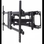 "Manhattan TV & Monitor Mount, Wall, Full Motion, 1 screen, Screen Sizes: 37-75"", Black, VESA 200x200 to 800x400mm, Max 75kg, LFD, Tilt & Swivel with 3 Pivots, Lifetime Warranty"