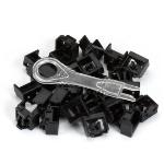 Black Box PL-AB-BK-25PAK patch panel accessory