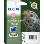 Epson Owl inktpatroon Light Magenta T0796 Claria Photographic Ink