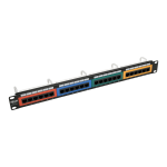 Tripp Lite N253-024-RBGY patch panel