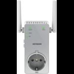 Netgear EX3800 WiFi Range Extender AC750, Dual-Band - 1 Fast Ethernet poort met geïntegreerd stopcontact