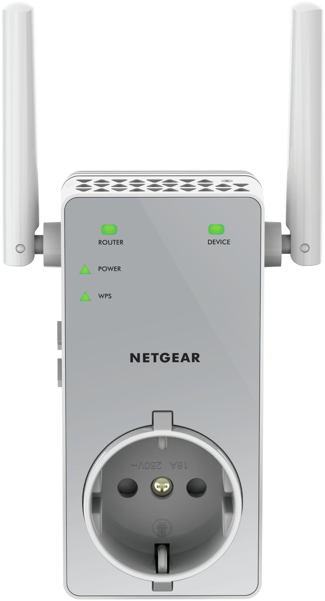 Netgear AC750 Transmisor de red Gris
