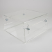 Newstar Height Adjustable Transparent Monitor Stand (Clear Acrylic)Stunning crystal clear acrylic for a styl