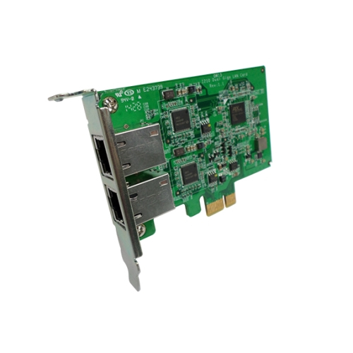 Dual-port Gigabit Network Expansion Card For Ts-x79 Tower Model