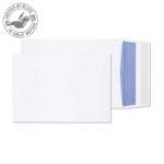 Blake Purely Packaging Gusset Pocket Peel and Seal White C5 229×162×25mm 120gsm