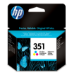 HP 351 Tri-color Inkjet Print Cartridge Original Cian, Magenta, Amarillo 1 pieza(s)