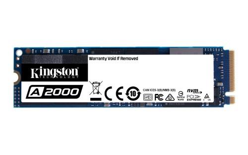 Kingston Technology A2000 internal solid state drive M.2 500 GB PCI Express 3.0 NVMe