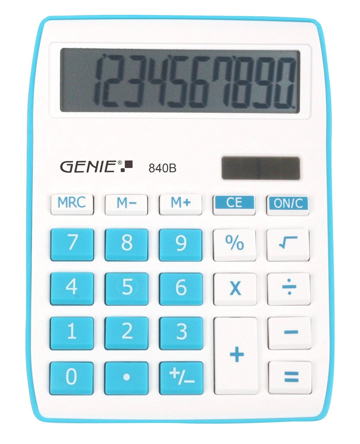 Genie 840B Blue Calculator