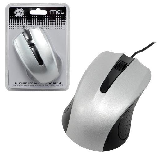MCL SS-212U ratón USB Óptico 1200 DPI Ambidextro