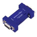 IMC Networks 422PP9R serial converter/repeater/isolator RS-232 RS-422 Blue