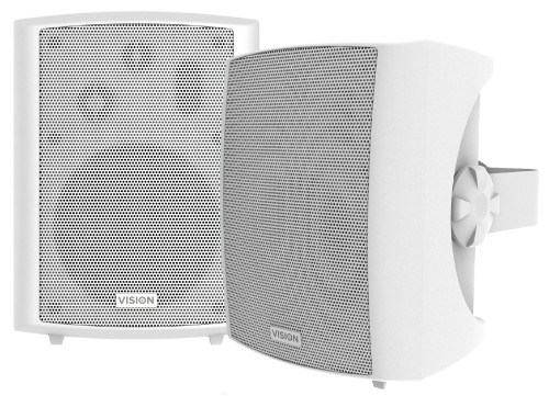 Vision SP-1800 loudspeaker 3-way 50 W White Wired