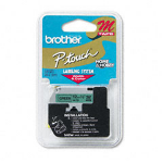 Brother M731 Green M printer label