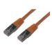 MCL FCC6BM-3M/O cable de red Naranja